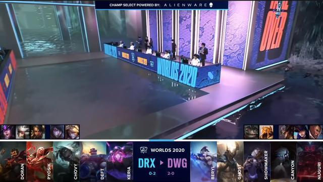 DragonX là đội đầu tiên lựa chọn Vel'Koz tại CKTG 2020