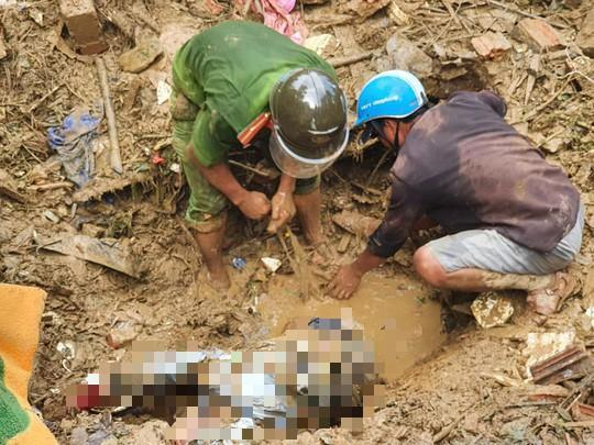 Sạt lở đất ở Quảng Nam: Còn 24 người mất tích, đã tìm thấy 21 thi thể, trời mưa trở lại 1