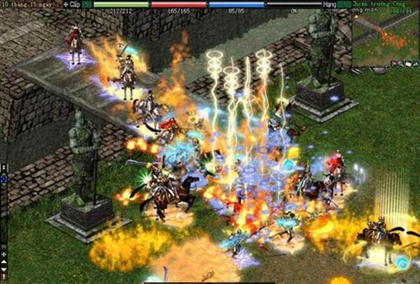20 triệu người chơi, 700 server Võ Lâm Truyền Kỳ đã được mở