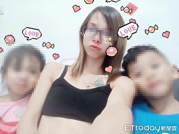 Ảnh chụp 3 mẹ con cô Ngô.