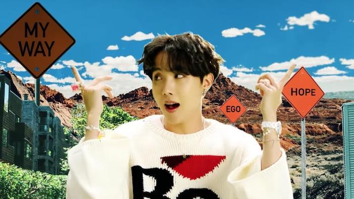 J-Hope trong MV Ego.