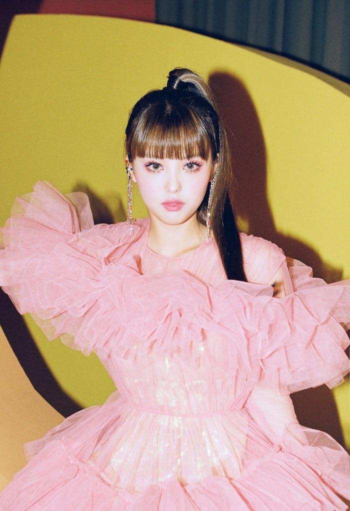 Ahin trong concept photo ở lần trở lại gần nhất.