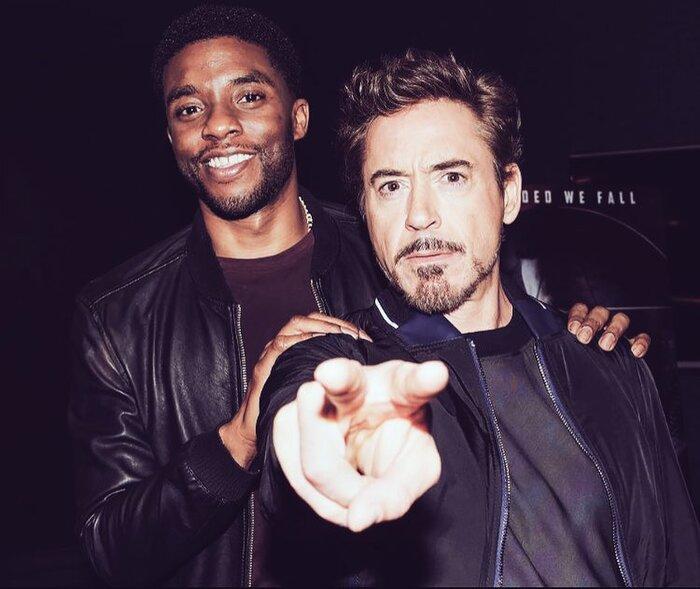 'Iron Man' Robert Downey Jr. gây xúc động với lời nhắn gửi Chadwick Boseman: Một cuộc sống theo chủ nghĩa người hùng thực sự! 2