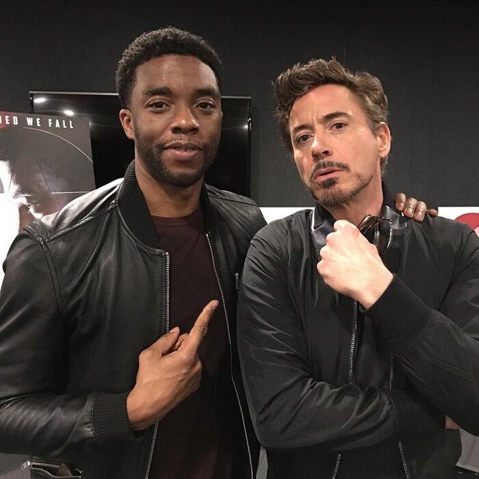 'Iron Man' Robert Downey Jr. gây xúc động với lời nhắn gửi Chadwick Boseman: Một cuộc sống theo chủ nghĩa người hùng thực sự! 3