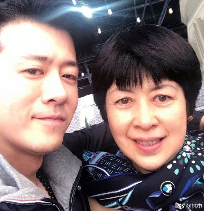 Lâm Vũ Thân và mẹ