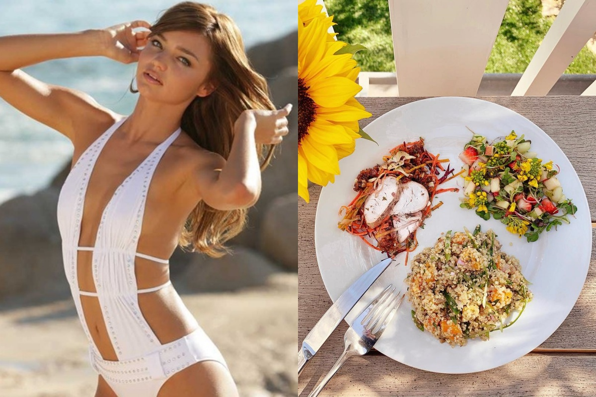 Để giảm cân hiệu quả và da dẻ hồng hào, bạn cứ học Miranda Kerr hay Kate Upton ăn salad mỗi ngày 0