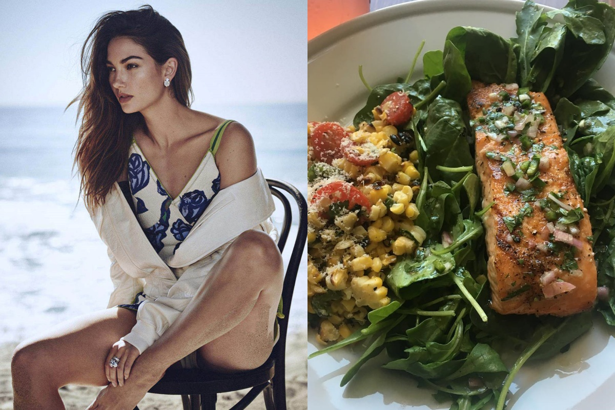 Để giảm cân hiệu quả và da dẻ hồng hào, bạn cứ học Miranda Kerr hay Kate Upton ăn salad mỗi ngày 6