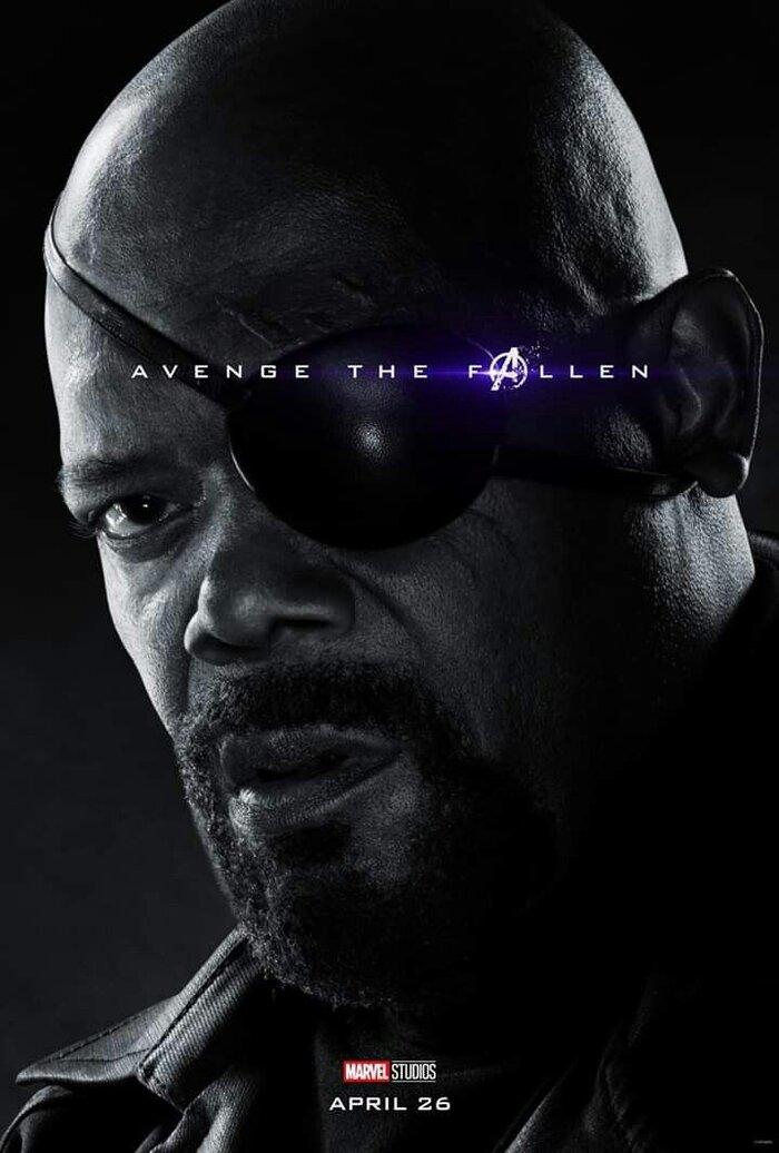 Nick Fury của Samuel L. Jackson chính thức có một series riêng trên Disney+ 1