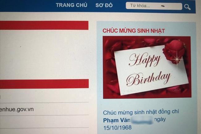 Lời chúc mừng sinh nhật khiến nhiều người không kìm được nước mắt.