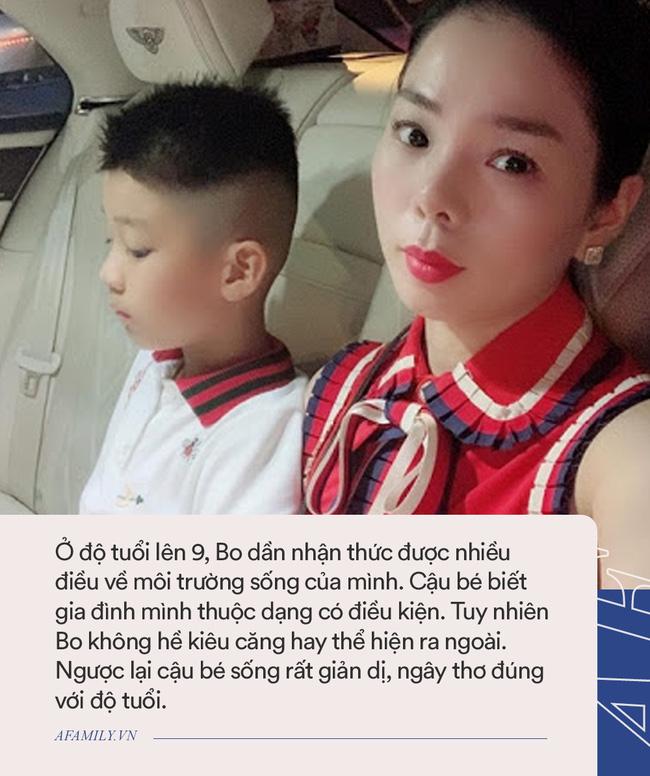 Con trai của Lệ Quyên: Mẹ là nữ ca sĩ đình đám, học trường quốc tế xịn xò nhưng đến lớp chẳng ai 'quan tâm' bởi điều này 1
