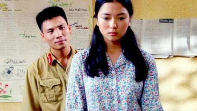 Dù chưa sắc nét nhưng Nguyễn Thị Huyền đánh giá có tiềm năng diễn xuất trong bộ phim đầu tay.