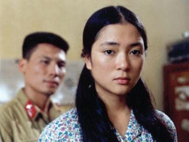 Hình ảnh của Nguyễn Thị Huyền khi đóng phim Thời xa vắng.