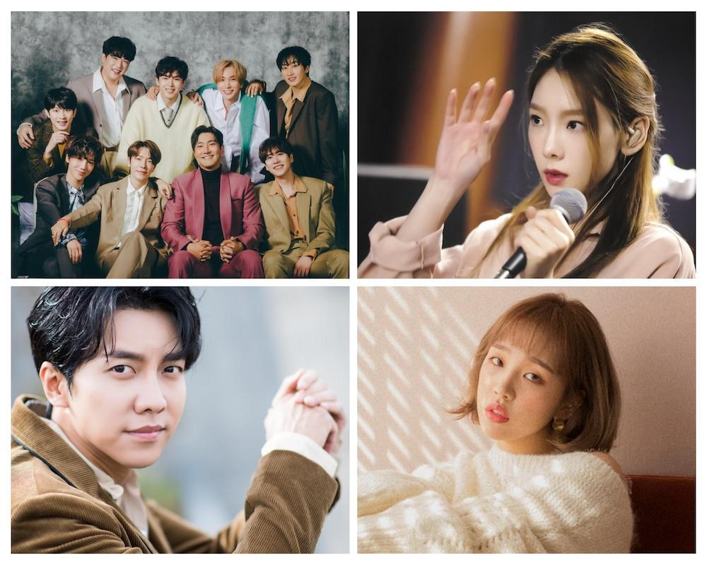 Taeyeon, Super Junior, Lee Seung Gi và Baek A Yeon xác nhận sẽ trở lại vào tháng 12.