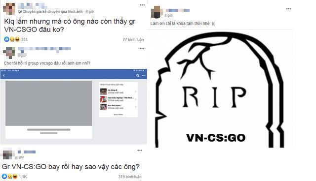 Cả cộng đồng CS:GO hoang mang khi nhóm lớn nhất bất ngờ biến mất trong đêm