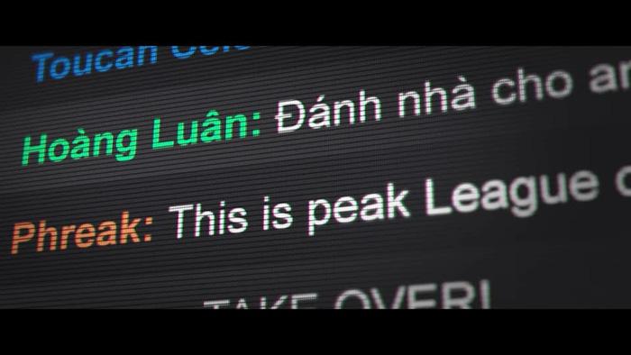 Hoàng Luân xuất hiện trong 'Take Over' với tư cách là người bình luận trên Twitch