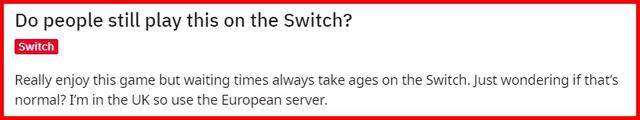 Game thủ phản ánh việc họ chỉ còn lựa chọn Đấu thường trên hệ Nintendo Switch.