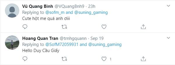Và đương nhiên không thể thiếu game thủ Việt gửi lời chào tới SofM