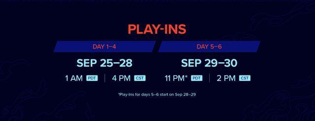 Vòng bảng của giai đoạn khởi động sẽ diễn ra từ ngày 25-28/9, vòng loại trực tiếp sẽ diễn ra trong 2 ngày 29 và 30/9 sau đó