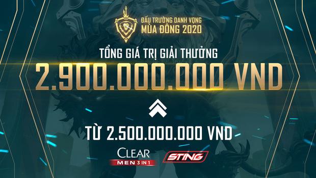 Thông báo thay đổi tiền thưởng của BTC ĐTDV mùa Đông 2020.