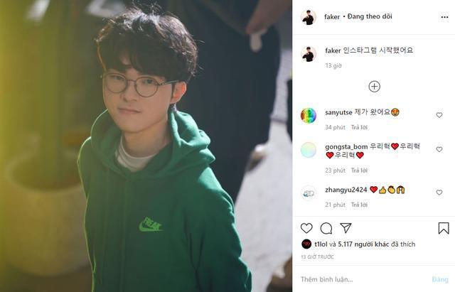 Bài đăng đầu tiên của anh chàng trên Instagram: 'Xin chào mọi người tôi đã sử dụng Instagram rồi đây.'
