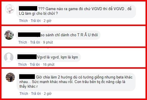 Game thủ VGVD không đồng tình khi trò chơi mình yêu thích bị gọi là Liên Quân.