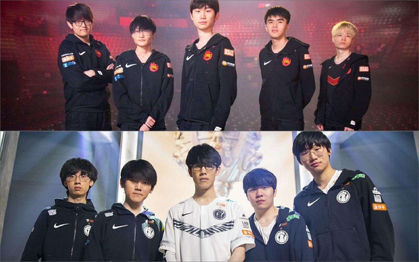 IG và FPX là những đội Trung Quốc đầu tiên vô địch thế giới.