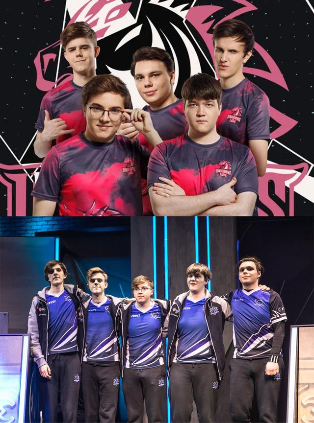 5 thành viên hiện tại của Unicorn of Love từng thi đấu tại MSI 2019 dưới màu áo Vega Squadron