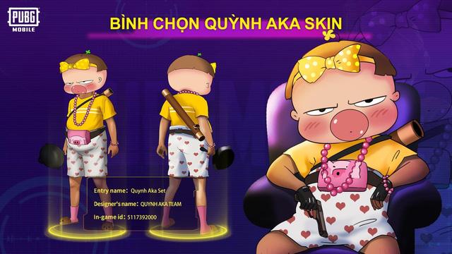 Mắt tròn mắt dẹt với những thiết kế trang phục đỉnh cao từ các game thủ PUBG Mobile, Quỳnh Aka nhanh chóng lọt vào top 5 0