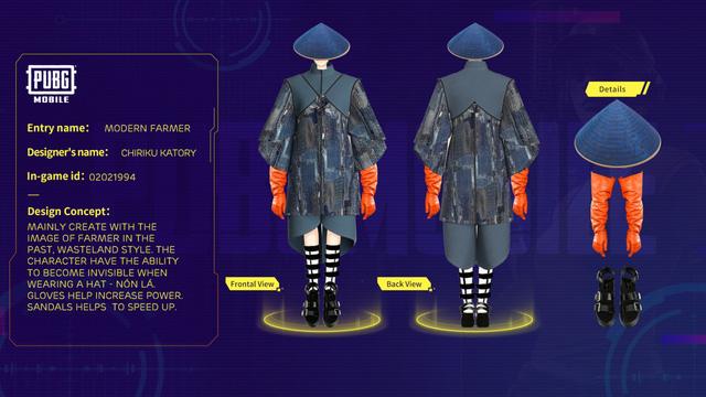 Mắt tròn mắt dẹt với những thiết kế trang phục đỉnh cao từ các game thủ PUBG Mobile, Quỳnh Aka nhanh chóng lọt vào top 5 3