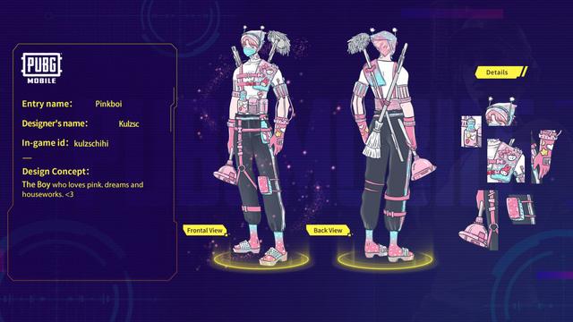 Mắt tròn mắt dẹt với những thiết kế trang phục đỉnh cao từ các game thủ PUBG Mobile, Quỳnh Aka nhanh chóng lọt vào top 5 5