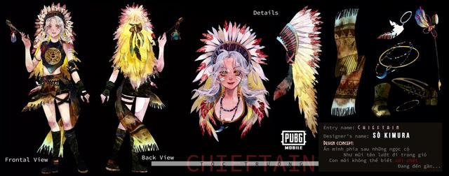 Mắt tròn mắt dẹt với những thiết kế trang phục đỉnh cao từ các game thủ PUBG Mobile, Quỳnh Aka nhanh chóng lọt vào top 5 4