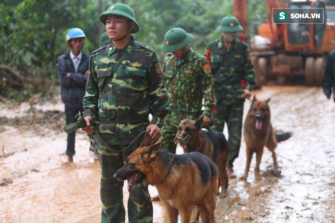 Sáng 19/10, có hơn 500 quân nhân tiếp tục được điều động vào hiện trường.