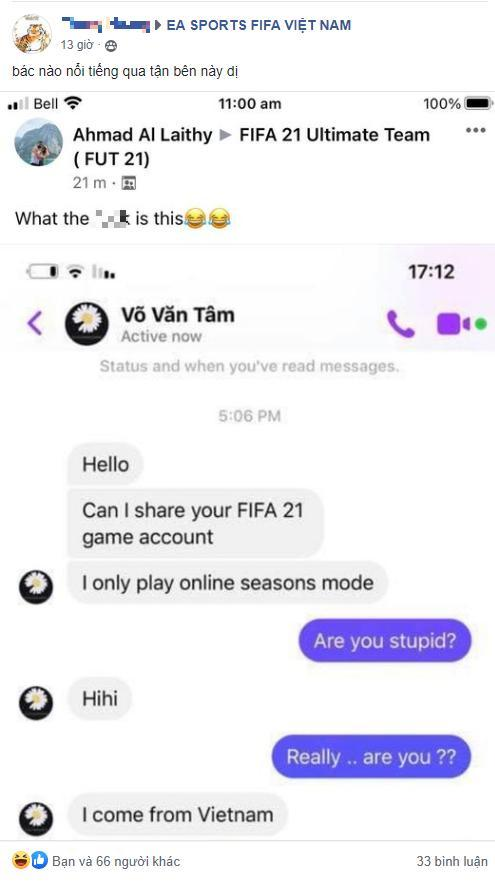 Một người chơi Việt bị diễn đàn game thủ nước ngoài lôi ra lên án khiến CĐM nước nhà cảm thấy xấu hổ 0