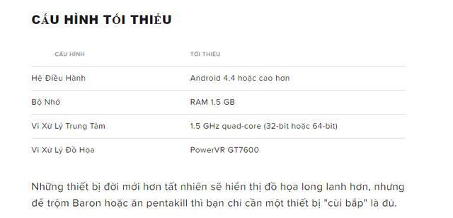 Chính thức! Danh sách smartphone có thể chơi LMHT: Tốc Chiến, bất ngờ là máy từ 2013 cũng chơi được 2