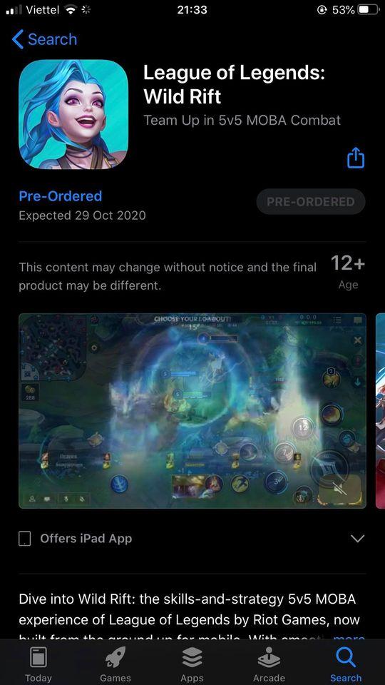Liên Minh: Tốc Chiến chính thức dời ngày ra mắt trên App Store sang 29/10