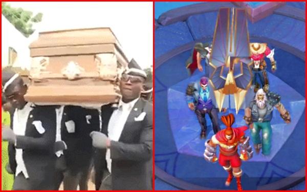 'Điệu nhảy bên quan tài' của mấy thanh niên đến từ Ghana được tái hiện trong Liên Quân.