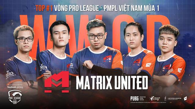 Matrix United giữ nguyên dàn ngôi sao tại giải đấu lần này