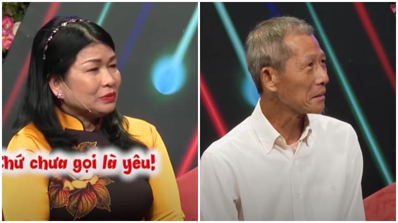 Cặp đôi chàng U70 - nàng U60 gây sốt khi xuất hiện trên sóng 'Bạn muốn hẹn hò' để tìm bạn đời