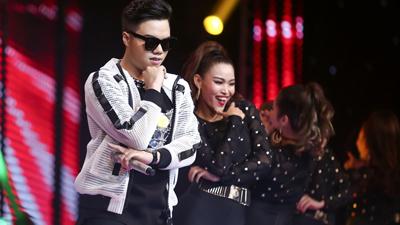Học trò Thu Minh nhảy Gangnam Style 'đốt nóng' sân khấu The Voice