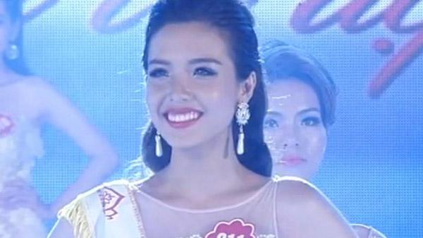 Nguyễn Đình Khánh Phương trả lời ứng xử tại cuộc thi Hoa hậu Biển Việt Nam 2016