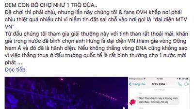 Quản lý Đàm Vĩnh Hưng tố MTV Việt Nam 'đem con bỏ chợ'