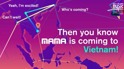 Lý do để MAMA 2017 mở màn tại Việt Nam