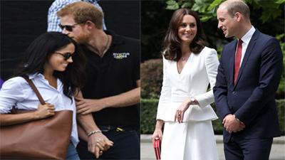 Tiết lộ vì sao Hoàng tử Harry công khai nắm tay bạn gái, còn Kate và William thì không