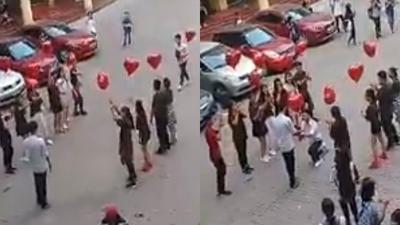 Sự thật màn tỏ tình gây sốt giữa hai nam sinh viên tại Đại học Nhân văn Hà Nội