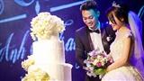 Nhật Anh Trắng hạnh phúc cùng cô dâu Trang Đinh trong ngày cưới