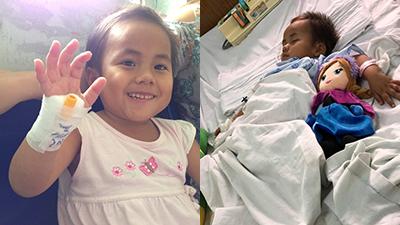 Em bé tật nguyền ở Thanh Hóa vật lộn với ca mổ đầu tiên