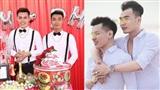 Chuyện tình đẹp như mơ đằng sau đám cưới dậy sóng dư luận của cặp đồng tính nam điển trai