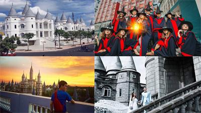 'Mắt tròn mắt dẹt' khi tận thấy 'Học viện Phù thủy Hogwarts' ngay giữa Hậu Giang