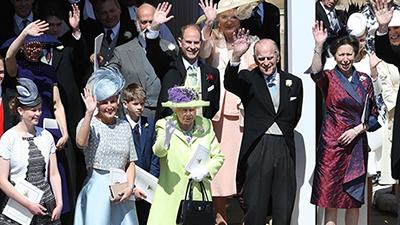 Đại gia đình Hoàng gia Anh tề tựu đông đủ trong đám cưới thế kỷ của Hoàng tử Harry và Meghan Markle