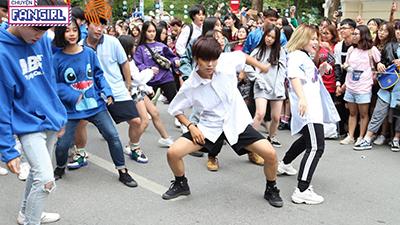 Fans cháy hết mình trong sự kiện K-POP Random Dance In Public: The Return